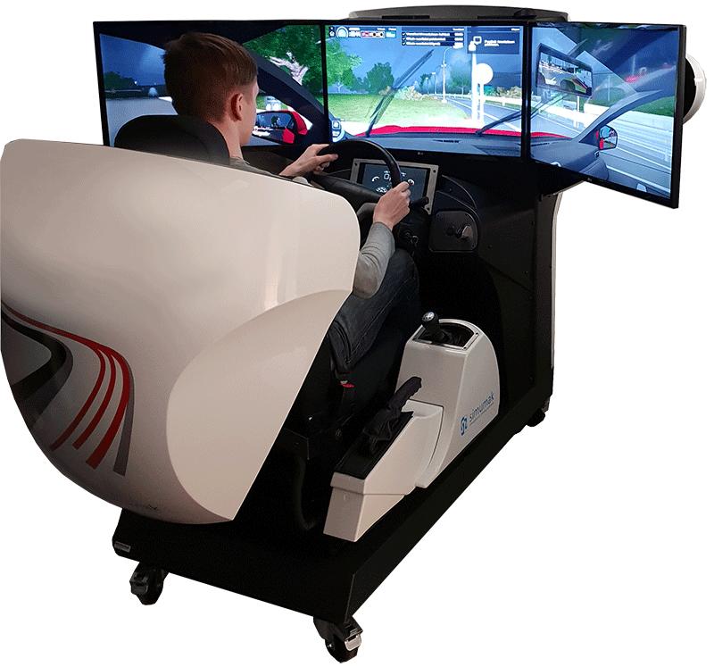 Autokoulun simulaattorikoulutus Joensuu