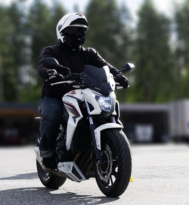 Moottoripyöräkortti Joensuu